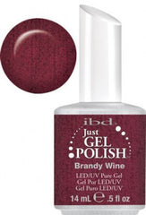 Gel Nails - Just Gel Polish - Brandy Wine