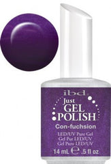 Gel Nails - Just Gel Polish - Con-fuchsion