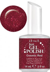 Gel Nails - Just Gel Polish - Cosmic Red
