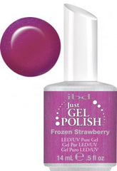 Gel Nails - Just Gel Polish - Frozen Strawberry