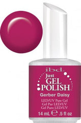 Gel Nails - Just Gel Polish - Gerber Daisy