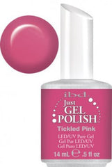 Gel Nails - Just Gel Polish - Tickled Pink