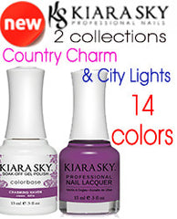 Gel Nails - KIARA SKY COUNTRY CHARM & CITY LIGHTS - 2 NEW COLLECTS