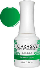 Gel Nails - Kiara Sky Gel Polish - Enchanted Forest