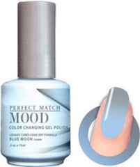 Gel Nails - Mood - Blue Moon