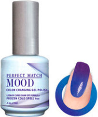 Gel Nails - Mood - Frozen Cold Spell