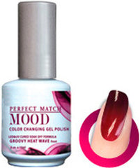 Gel Nails - Mood - Groovy Heat Wave