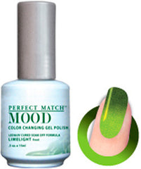 Gel Nails - Mood - Limelight (frost)