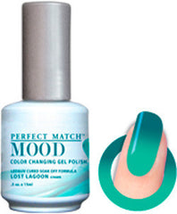 Gel Nails - Mood - Lost Lagoon (cream)