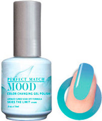Gel Nails - Mood - Skies The Limit