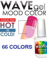 Gel Nails - WAVEGEL - MOOD COLOR