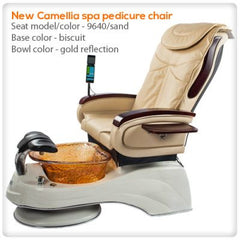Glass Sink Spas - All Spa Direct - Camellia - Pedicure Spa Chair