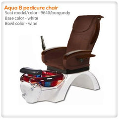 Glass Sink Spas - Aqua 8 Pedicure Spa Chair
