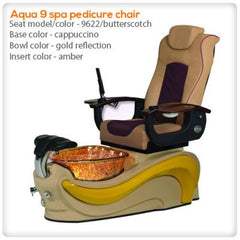 Glass Sink Spas - Aqua 9 Pedicure Spa Chair