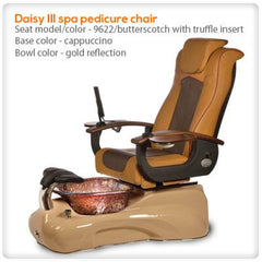 Glass Sink Spas - Gulfstream - Daisy III - Pedicure Spa Chair