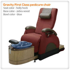 Glass Sink Spas - Gulfstream - Gravity First Class Spa Pedicure Chair