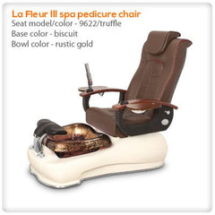 Glass Sink Spas - Gulfstream - La Fleur 3 - Pedicure Spa Chair