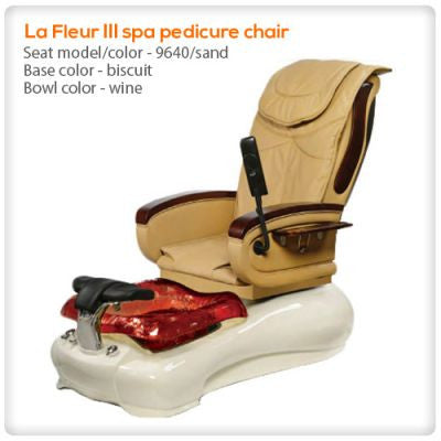Gulfstream - La Fleur 3 - Pedicure Spa Chair