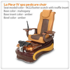Glass Sink Spas - Gulfstream - La Fleur 4 - Pedicure Spa Chair