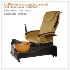 Glass Sink Spas - Gulfstream - La Plumeria - Pedicure Spa Chair