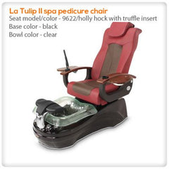 Glass Sink Spas - Gulfstream - La Tulip II - Pedicure Spa Chair