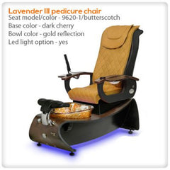 Glass Sink Spas - Gulfstream - Lavender III - Pedicure Spa Chair