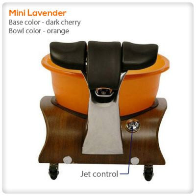 Gulfstream - Mini Lavender Pedicure Spa Tub