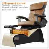 Lee Nail Supply - LED spa pedicure chair Smart Feature with Remote & Vented