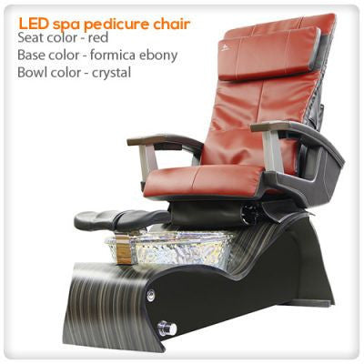 Merveilleux ... Lee Nail Supply   LED Spa Pedicure Chair Smart Feature With Remote U0026  Vented ...