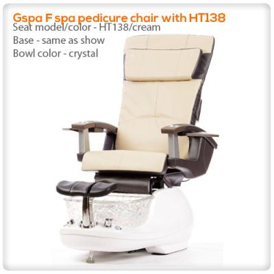 t4-Gspa F spa pedicure chair with HT138