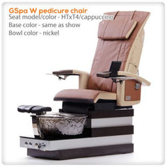 Glass Sink Spas - T4-GSpa W Pedicure Chair With HTxT4