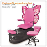 Mariposa IV spa pedicure chair