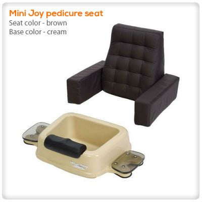 Mini Joy pedicure seat black
