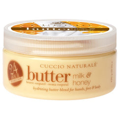 Lotions & Butter - Cuccio Naturale Butter Blend Milk & Honey 8 Oz.