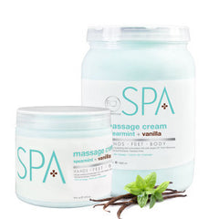 Lotions & Butter - Spearmint + Vanilla Massage Cream 64 Oz.