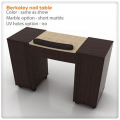 Manicure Nail Tables - Berkeley Nail Table