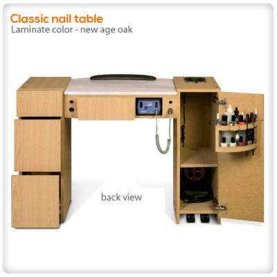 Classic Manicure Table with HI-Power LED Light