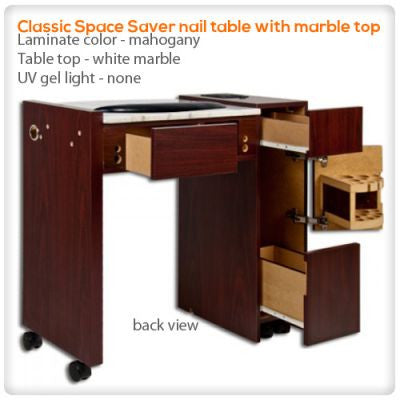 Classic Space Saver nail table
