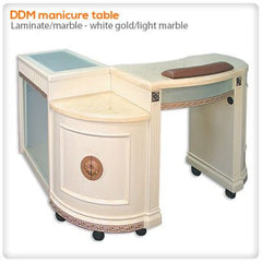 Manicure Nail Tables - DDM Manicure Table