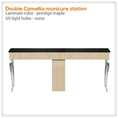 Double Camellia manicure station