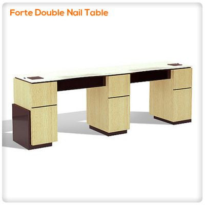 Forte Double Nail Table