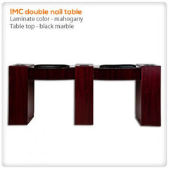 Manicure Nail Tables - IMC Vented Double Nail Table
