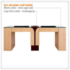 Manicure Nail Tables - Ion Double Nail Table