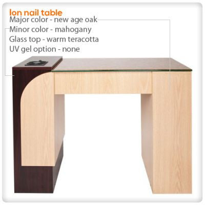 Ion LED Light nail table