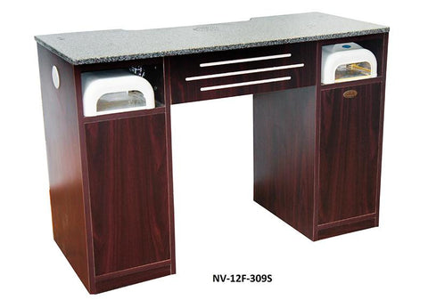 LNS - Manicure Table with Built-In Vacuum