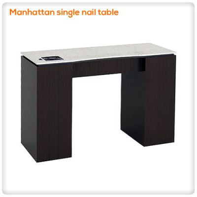 Manhattan single nail table
