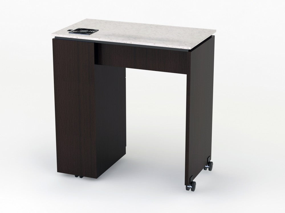 manhattan space saver nail table. Black Bedroom Furniture Sets. Home Design Ideas