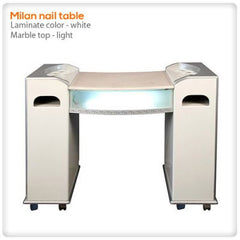 Manicure Nail Tables - Milan Nail Table