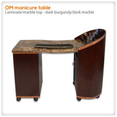 Manicure Nail Tables - OM Manicure Table