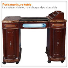 Manicure Nail Tables - Paris Manicure Table